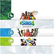 The Sims 4 Bundle (Seasons, Jungle Adventure, Spooky Stuff) - Xbox One Digital - Herní doplněk