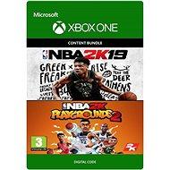 NBA 2K19 + NBA 2K Playgrounds 2 Bundle - Xbox One Digital - Hra pro konzoli