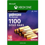 Wolfenstein: Youngblood: 1100 Gold Bars - Xbox One Digital - Herní doplněk