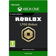 1,700 Robux for Xbox - Xbox One Digital - Herní doplněk