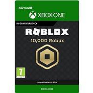 10,000 Robux for Xbox - Xbox One Digital - Herní doplněk