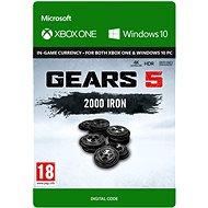 Gears 5: 2000 + 250 Iron - Xbox Digital