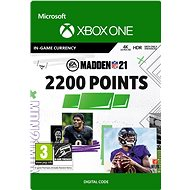 Madden NFL 21: 2200 Madden Points - Xbox Digital