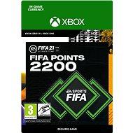 FIFA 21 ULTIMATE TEAM 2200 POINTS - Xbox Digital - Herní doplněk