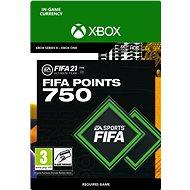 FIFA 21 ULTIMATE TEAM 750 POINTS - Xbox Digital - Herní doplněk
