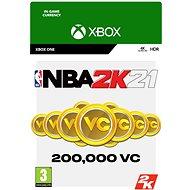 NBA 2K21: 200,000 VC - Xbox One Digital - Herní doplněk