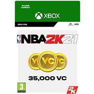 NBA 2K21: 35,000 VC - Xbox One Digital - Herní doplněk