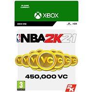 NBA 2K21: 450,000 VC - Xbox One Digital - Herní doplněk