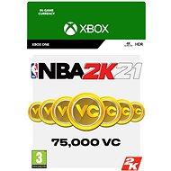 NBA 2K21: 75,000 VC - Xbox One Digital - Herní doplněk