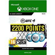 UFC 4: 2200 UFC Points - Xbox Digital