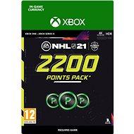 NHL 21: Ultimate Team 2200 Points - Xbox Digital - Herní doplněk