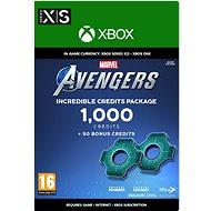 Marvels Avengers: 1,050 Credits Package - Xbox Digital - Herní doplněk