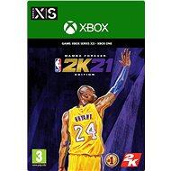 NBA 2K21: Mamba Forever Edition - Xbox Series Digital - Hra na konzoli