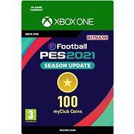 eFootball Pro Evolution Soccer 2021: myClub Coin 100 - Xbox Digital - Herní doplněk