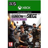 Tom Clancys: Rainbow Six: Siege Operator Edition - Xbox Digital - Hra na konzoli