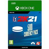 PGA Tour 2K21: 500 Currency Pack - Xbox Digital - Herní doplněk