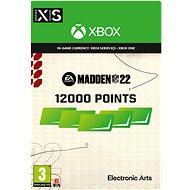 Madden NFL 22: 12000 Madden Points - Xbox Digital