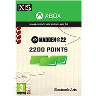 Madden NFL 22: 2200 Madden Points - Xbox Digital