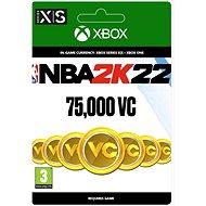NBA 2K22: 75,000 VC - Xbox Digital