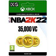 NBA 2K22: 35,000 VC - Xbox Digital