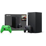 Xbox Series X + 2x Xbox Wireless Controller - Herní konzole