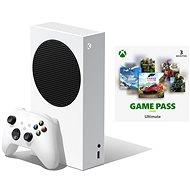 Herní konzole Xbox Series S + Xbox Game Pass Ultimate - 3 měsíční předplatné