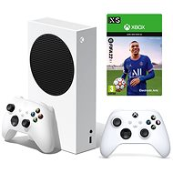 Herní konzole Xbox Series S + 2x Xbox Controller + FIFA 22