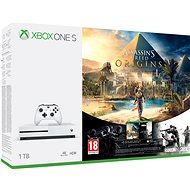 Xbox One S 1TB Assassins Creed: Origins + Rainbow 6: Siege - Herní konzole