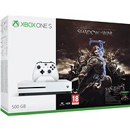 Xbox One S 500GB Middle-Earth: Shadow of War - Herní konzole