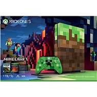 Xbox One S 1TB Minecraft Limited Edition - Herní konzole