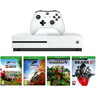 Xbox One S 1TB + Lego Forza Horizon 4 + Gears 5 + Minecraft - Game Console