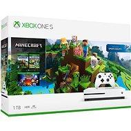 Xbox One S 1TB + Minecraft - Herní konzole