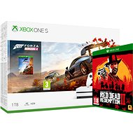Xbox One S 1TB + Forza Horizon 4 + Red Dead Redemption 2 - Herní konzole