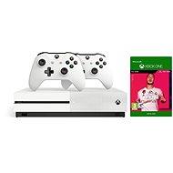 Xbox One S 1TB + FIFA 20 + 2x Ovladač