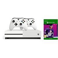 Xbox One S 1TB + NHL 20 + 2x Ovladač - Herní konzole