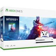 Xbox One S 1TB + Battlefield V - Herní konzole