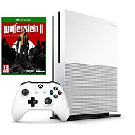 Xbox One S 500GB + Wolfenstein II: The New Colossus - Herní konzole
