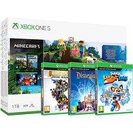 Xbox One S 1TB Kids Pack - Herní konzole