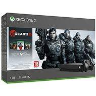 Xbox One X + Gears 5 - Herní konzole