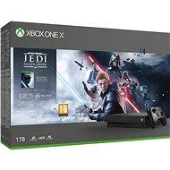 Xbox One X + Star Wars: Fallen Jedi Order - Herní konzole