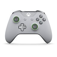 Xbox One Wireless Controller Grey/Green - Gamepad