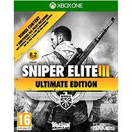 Sniper Elite 3 Ultimate Edition - Xbox One - Console Game