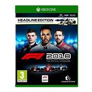 F1 2018 - Headline Edition - Xbox One - Hra pro konzoli