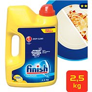 FINISH PowerPowder Citrón 2,5 kg - Prášek do myčky