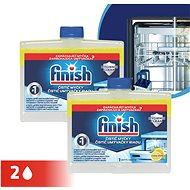 FINISH Dishwasher Cleaner Lemon Duo 250 ml - Dishwasher cleaner
