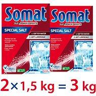 Sůl do myčky SOMAT Sůl 2× 1,5 kg