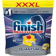 FINISH Quantum Max Lemon 60 ks - Tablety do myčky