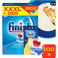 FINISH Classic 100 ks + DEO Lemon - Tablety do myčky