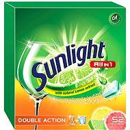SUNLIGHT All in 1 Citrus (52 ks) - Tablety do myčky