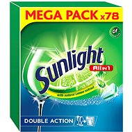SUNLIGHT All in 1 (78 pcs) - Dishwasher Tablets